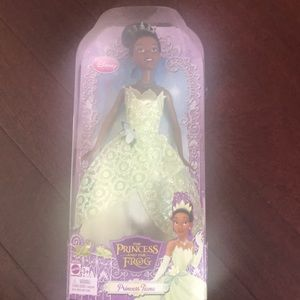Barbie Doll . The princess & the frog ... not used
